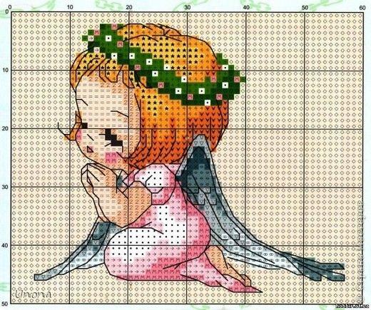 ангелочки вышивка - Пошук Google