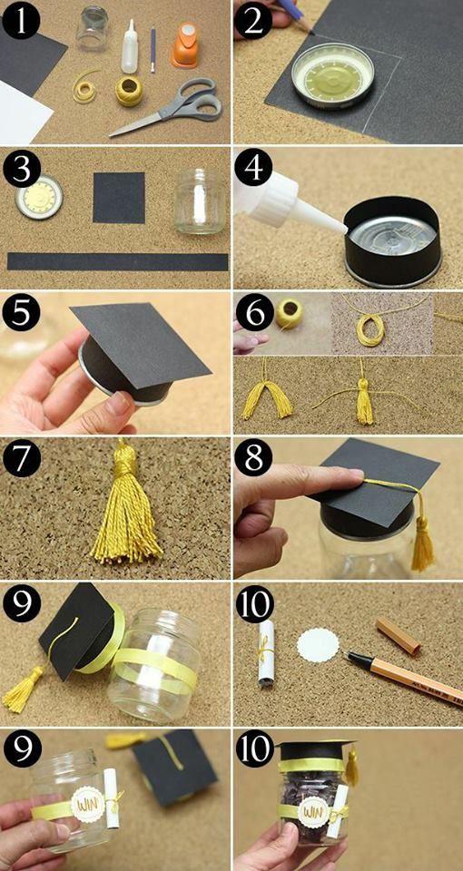 Great idea how to make a present to a graduate | Отличная идея как сделать подарок для выпускника своими руками