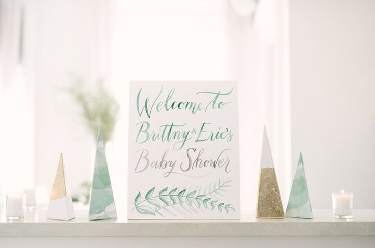 Brittny and Eric's Greenery-Filled Unisex Baby Shower