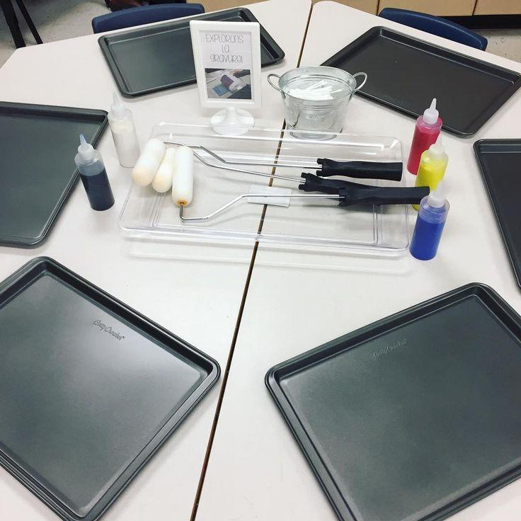 "27 Likes, 2 Comments - Laura King (@kindergartenteachertired) on Instagram: ""It's printmaking time!! 🎨😎 Instructions on the next post! . . . . #tpt #teacherspayteachers #fdk…"""