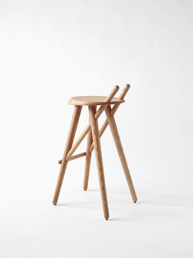 Delightful Matej Chabera For Lugi // Barstool 02 // Is CNC Machined From Solid Steamed  Ash Wood And Is Hand Built By Expert Carpenters At LUGI. Great Ideas