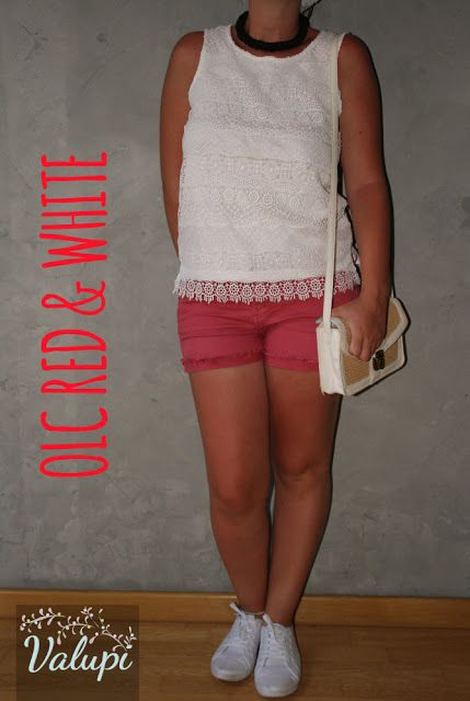 Valupi - Handmade with love: Outfit Low Cost Red & White