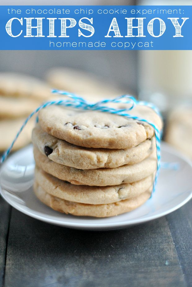 Homemade Chips Ahoy Cookies recipe