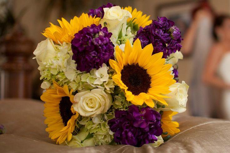 Best purple sunflower wedding ideas on pinterest