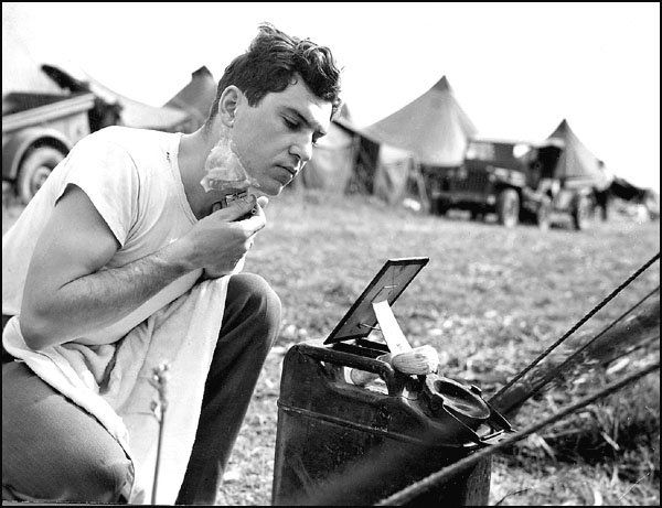 WW2: Keeping a close shave is a priority even during war