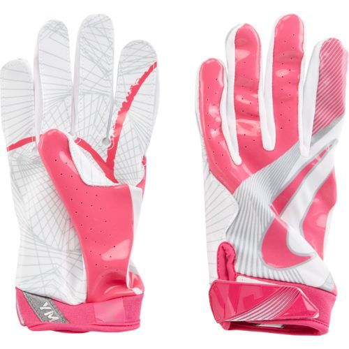 Nike Boys' Vapor Jet 4 BCA Football Glove Pink - Football Equipment, Football Equipment at Academy Sports
