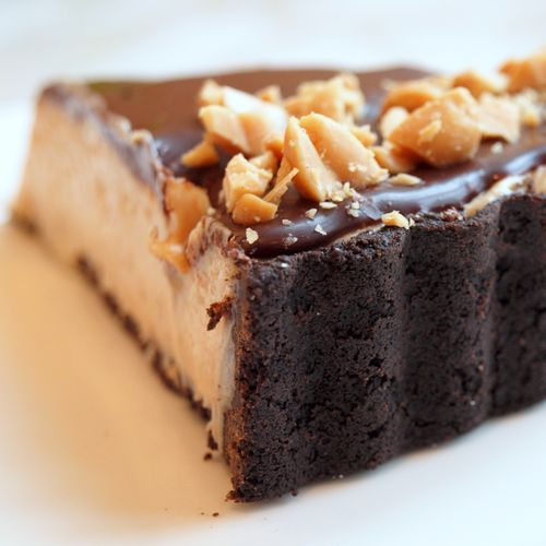 Ingredients For the Crust 4 ounces semisweet chocolate, chopped (best quality, such as Ghirardelli) 4 tablespoons unsalted butter, cut into tablespoons 8 ounces Nabisco Chocolate Wafers (about 32 c…