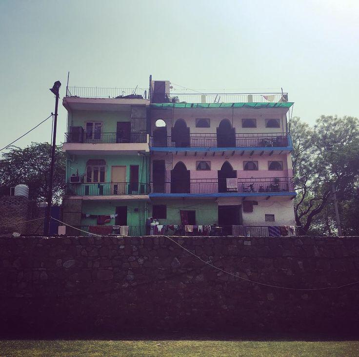 Colorful building at Hauz Khas New Delhi India. . . . . . . @arthurrobertar #hauzkhas #hauzkhasvillage #delhi #india #newdelhi #afternoon #colorful #building #architecture #fort #local #travel #workandtravel #photography #travelphotography #adventure #exploreindia #journey #artist #vj #filming #musician #techno #witch #witchesofinstagram #couple #inspiration