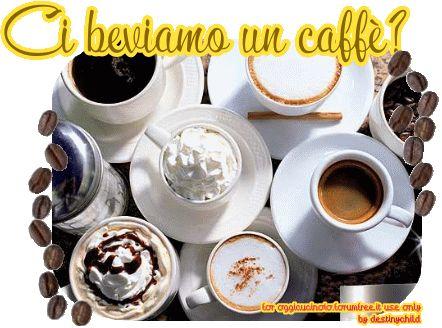 ci beviamo un caffè?