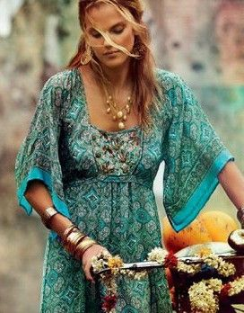 My total hippie chic style....I want this dress! How do I find it???
