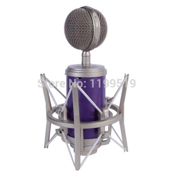 professional studio recording condenser microphone mysterious WangTou purple circle