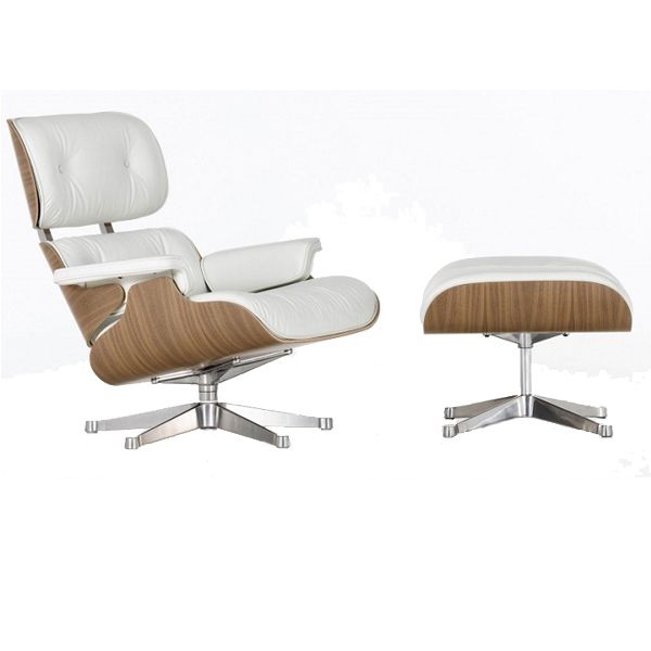 Eames Lounge Chair Style in noce | MOBILIEDESIGN | Mobili di design