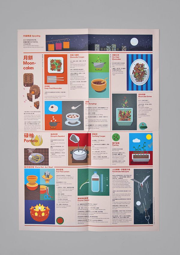 Good Fest Guide by Jim Wong, via Behance