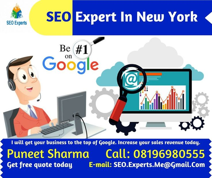 Hire SEO Expert in New York (NYC) If you are looking for a local SEO Expert in New York contact Puneet Sharma SEO Expert Online Marketing consultant provide you Professional SEO services in NYC wit…