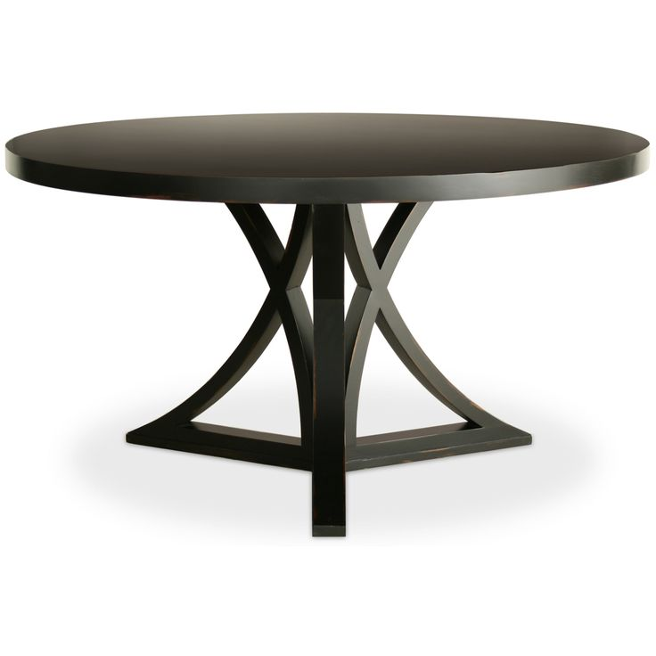 60 round dining set with leaf sophia round dining table for Black dining table with leaf