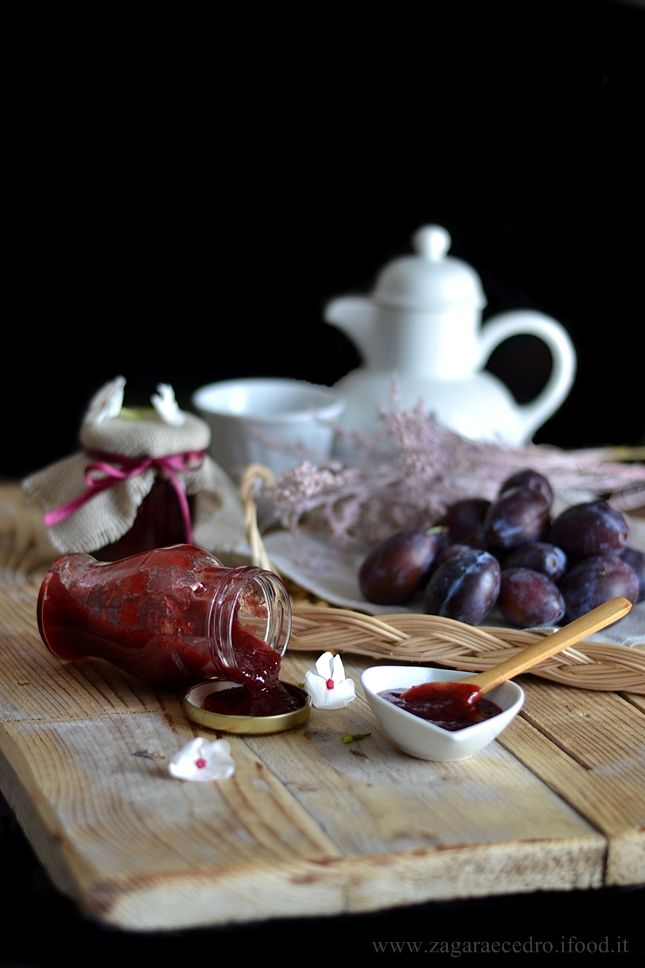 Marmellata di Prugne viola e Cannella.....gnammy…