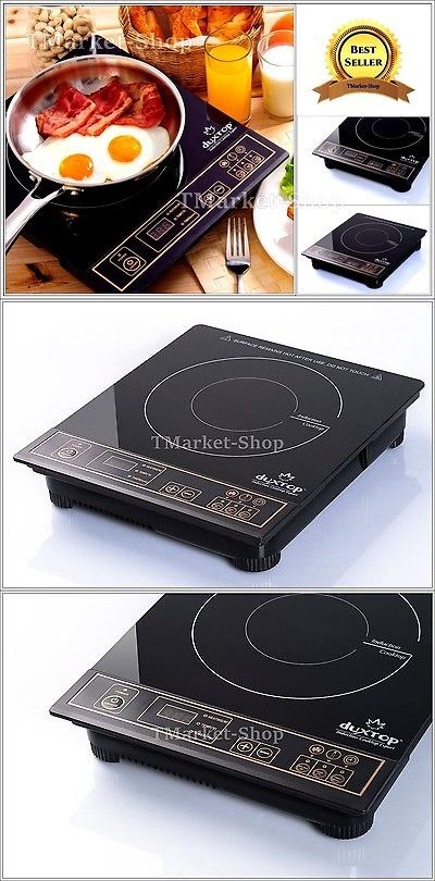Burners and Hot Plates 177751: Portable Induction Cooktop Countertop Single Burner Stove Electric Cooker 1800-W -> BUY IT NOW ONLY: $85.9 on eBay!