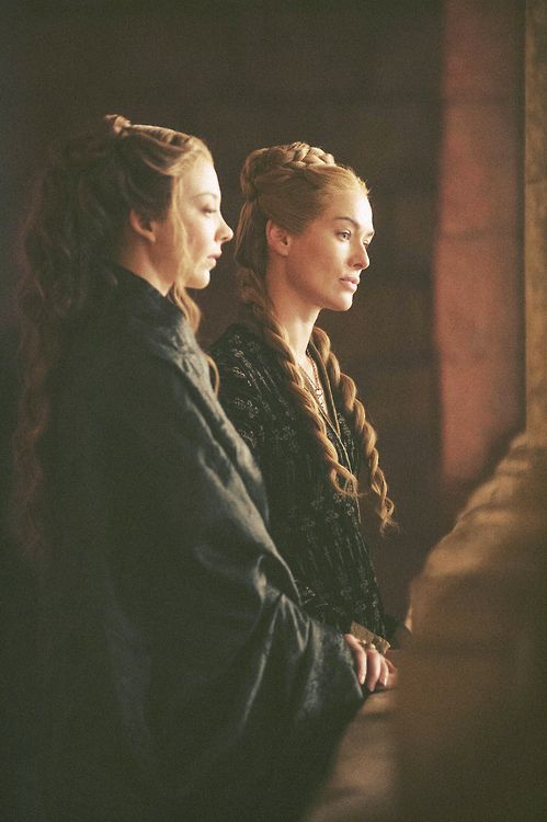Cersei Lannister and Margaery Tyrell ~ Game of Thrones