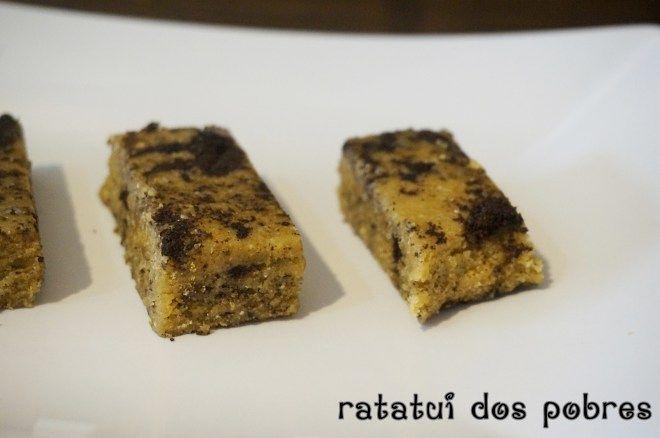 Barritas proteicas de Cookie   ratatui dos pobres