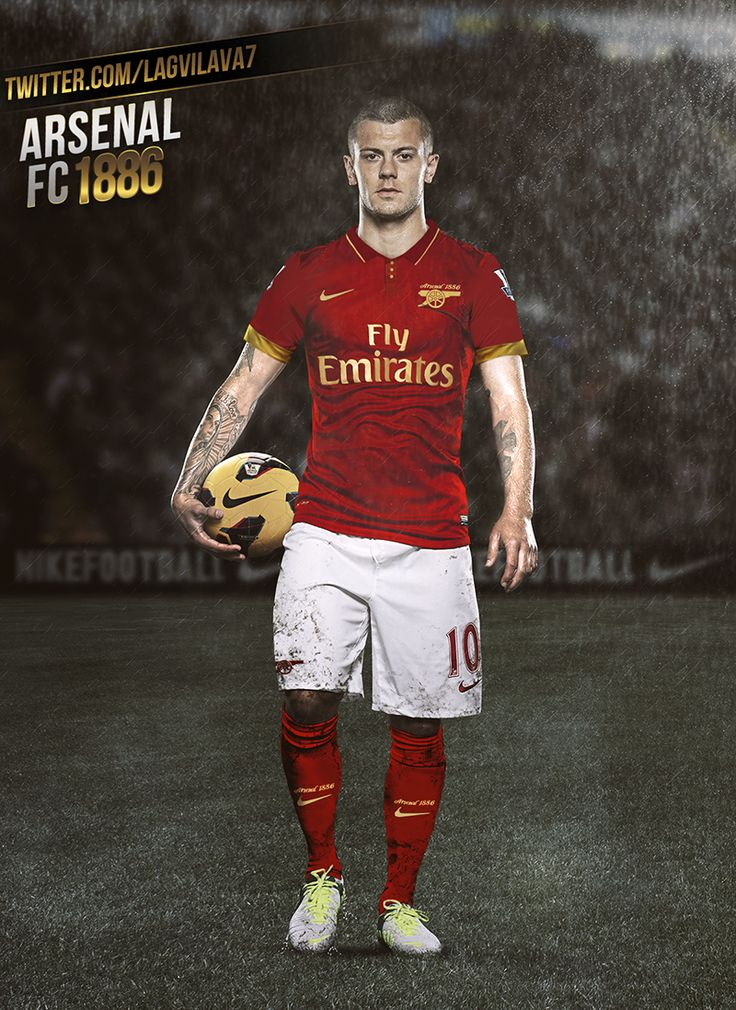 Jack Wilshere / Lagvilava7: Arsenal 1886 love this kit ...