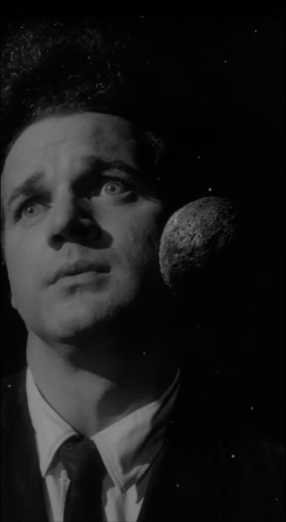 """Eraserhead"" (1977) David Lynch: Interesting use of blending shots over his face- and such a strange expression"