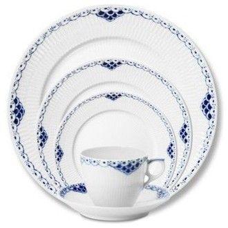 Royal Copenhagen Princess 5pc Place Setting - Royal Copenhagen traditional dinnerware sets