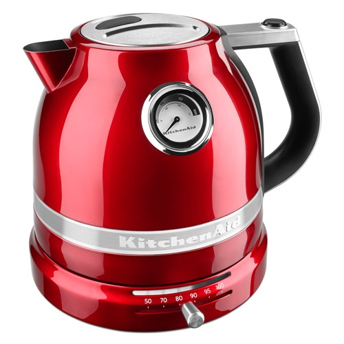 KitchenAid Pro Line Electric Kettle  Variable temperature settings up to 212 F and an accurate temperature gauge ensure the precise water temperature you prefer cup after cup, bowl after bowl.