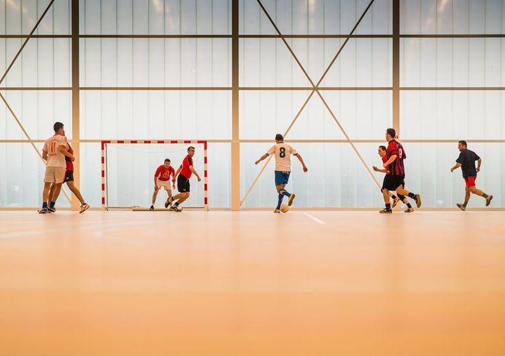 Neighbourhood Sports Centre Kiel , Antwerp, 2013 - UR architects