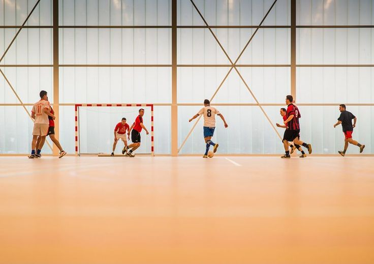 Neighbourhood Sports Centre Kiel , Antwerp, 2013 - UR architects