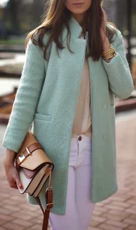 Mint jacket