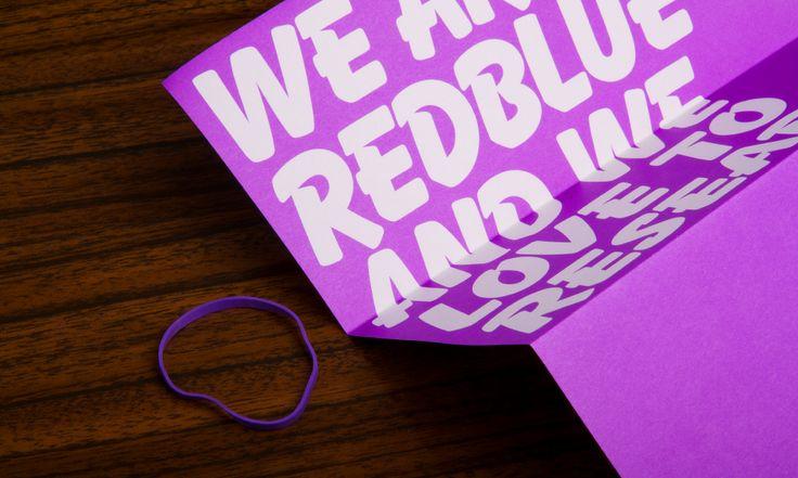 RedBlue = Purple