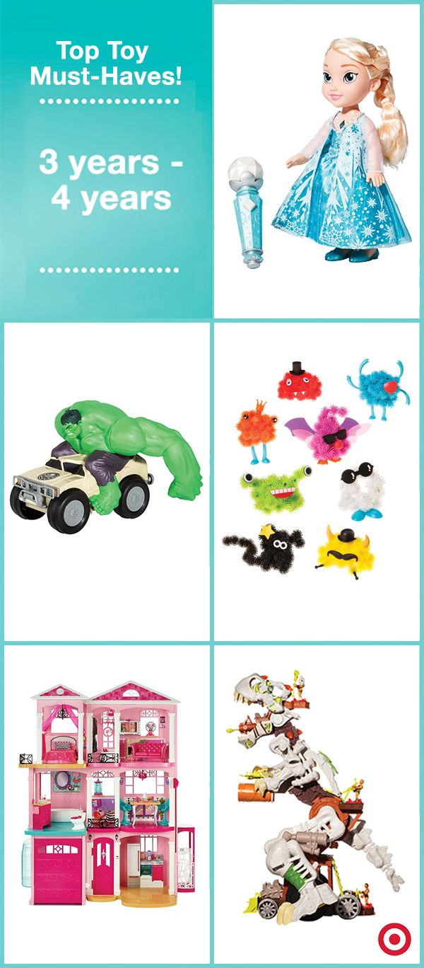 Target's annual Top Toys list, which names the hottest kids wish-list items for the 2015 holiday season, is here! Click through to check out the top toys for your child's age range!