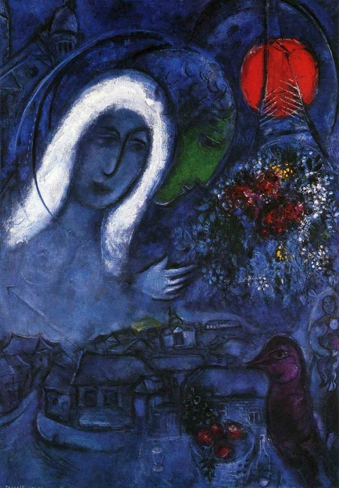 Marc Chagall Werke Sinnbilder Eines Lebens Chagall Marc