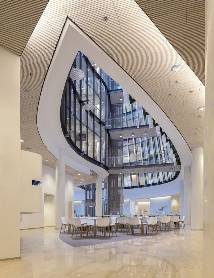 Biofore House: UPM Group head office by Helin & Co Architects (2013). Photo by courtesy of Helin & Co.