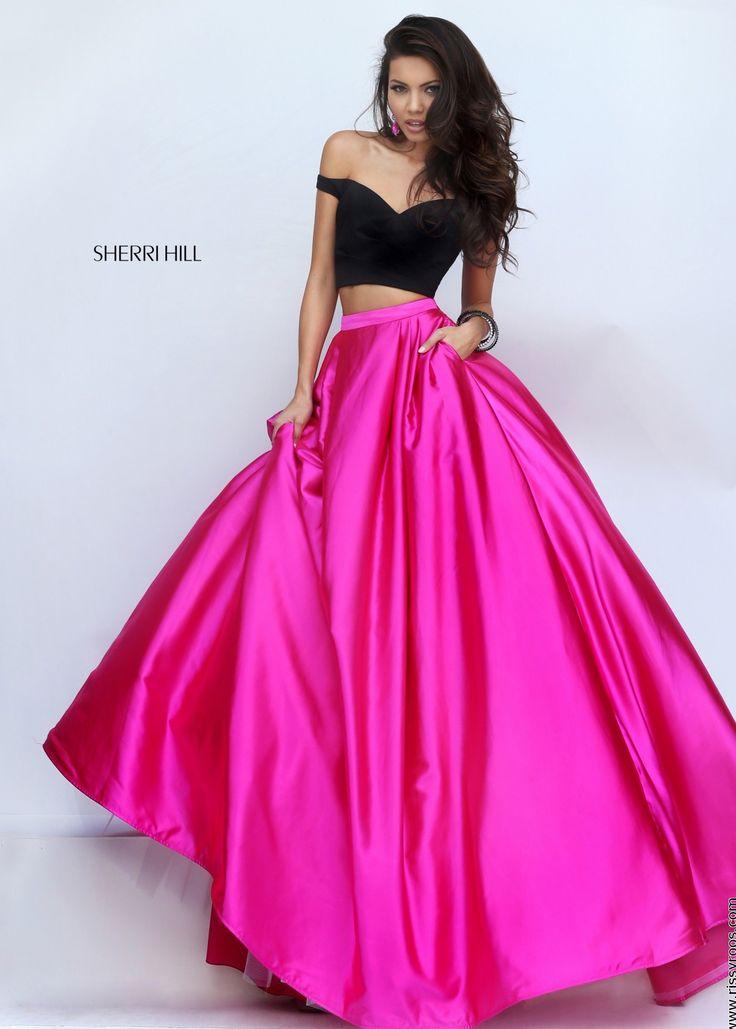 Pink Short Sherri Hill Prom Dresses – fashion dresses