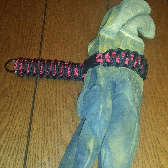 Hey, I found this really awesome Etsy listing at https://www.etsy.com/listing/216683528/paracord-firefighter-glove-holder