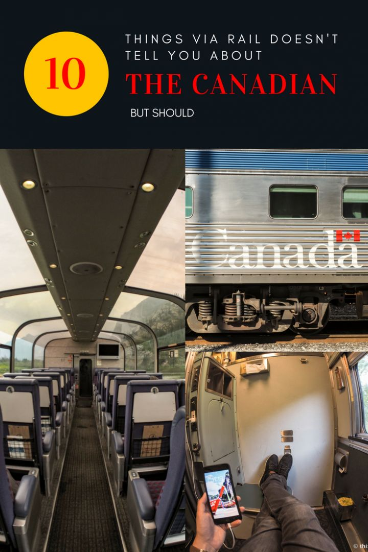 Thinking about climbing aboard The Canadian train for an epic journey across Canada? Check out these insider tips and observations before deciding!