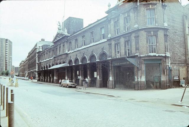 Billingsgate Market, London 1980