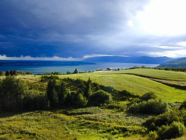 Îles aux Coudres avant orage by Michel Auger on 500px