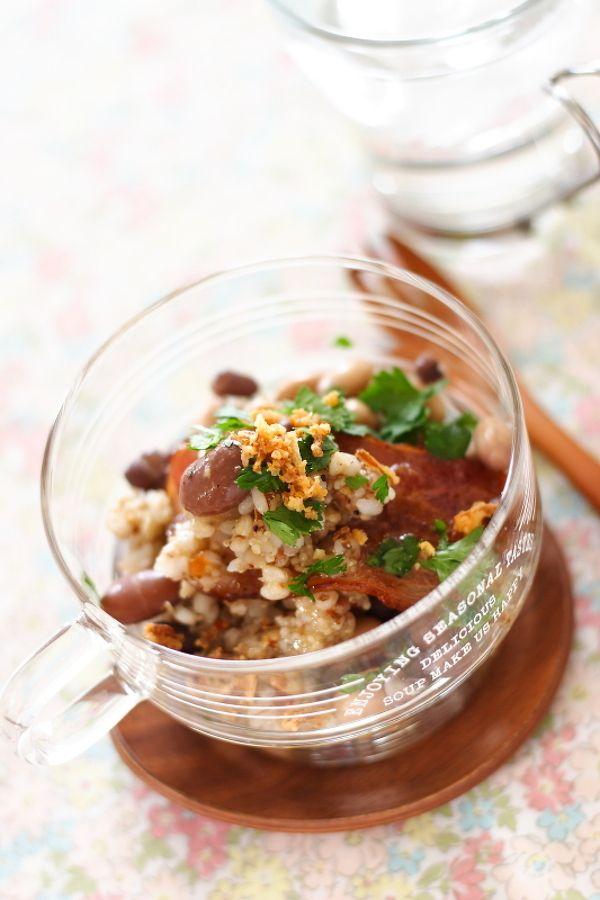豆と雑穀米のサラダ by 小春ちゃん | レシピサイト「Nadia | ナディア ...