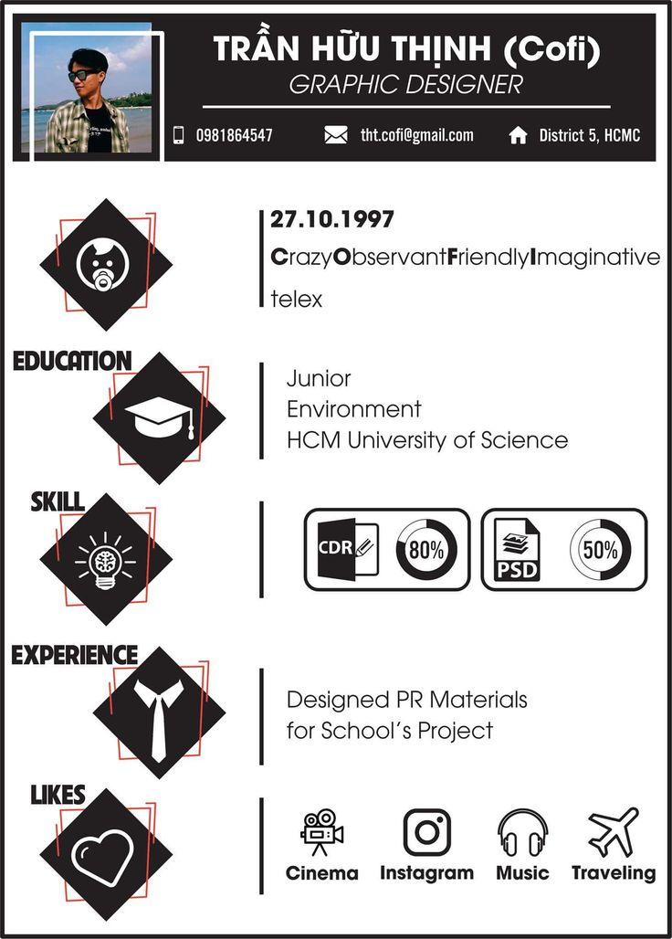 The 25+ best My cv ideas on Pinterest Curriculum vitae format - my cv resume