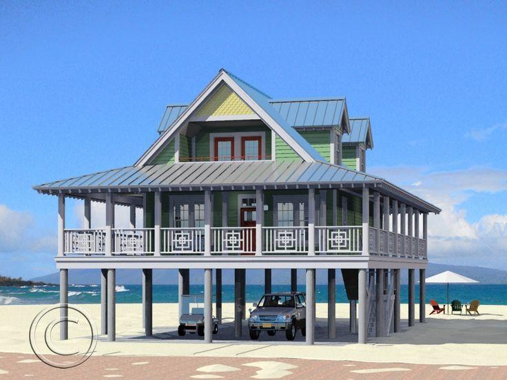 Love it highland wrap porch sandcastle coastal homes for Coastal modular home designs