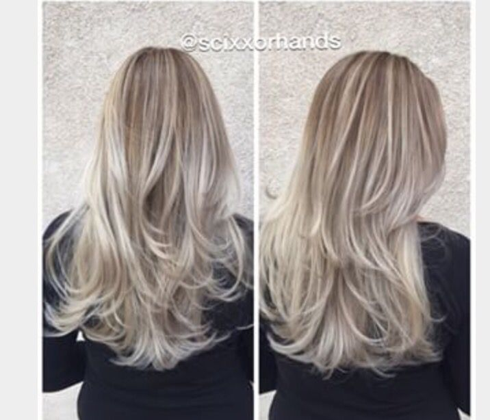 Cool Blonde Highlights Blonde Highlights Low Lights Hair Hair Styles 2016