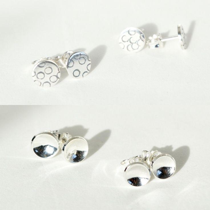 Håndlaget ørepynt, sølv (925). Zylla smykker. Click on the image to see more!