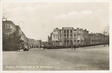 Arnhem - Hommelseweg en Sint Antonielaan