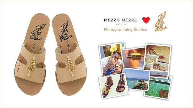Ancient Greek Sandals Corfu Mezzo Mezzo Fashion www.mezzomezzofashion.com