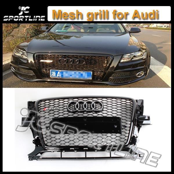 2010 - 2012 RSQ5 ABS черная рамка черный бампер сетки решетка, Автомобиль решетка радиатора для Audi ( подходит 10 - 12 RSQ5 )