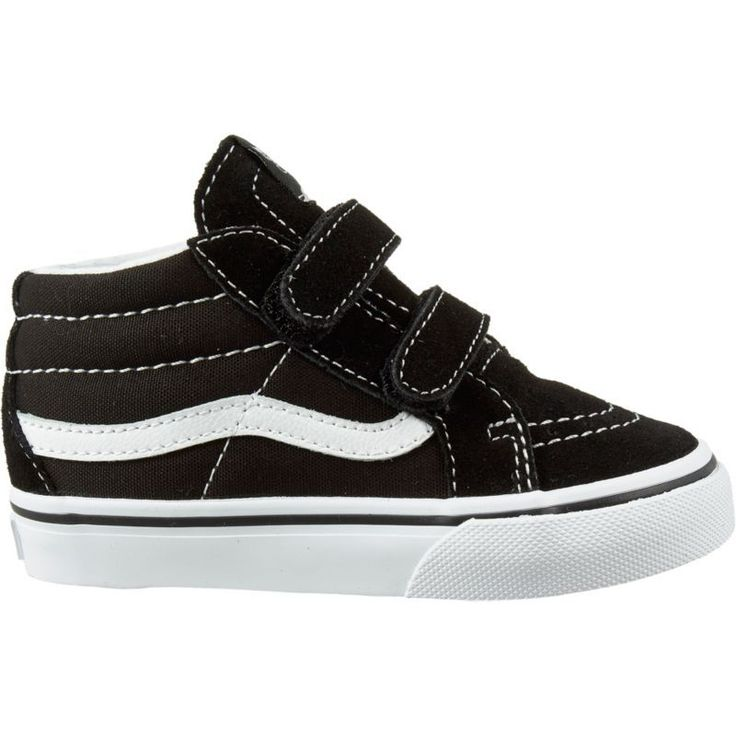 Vans Toddler SK8-Hi Mid Reissue V AC Shoes, Toddler Girl's, Black