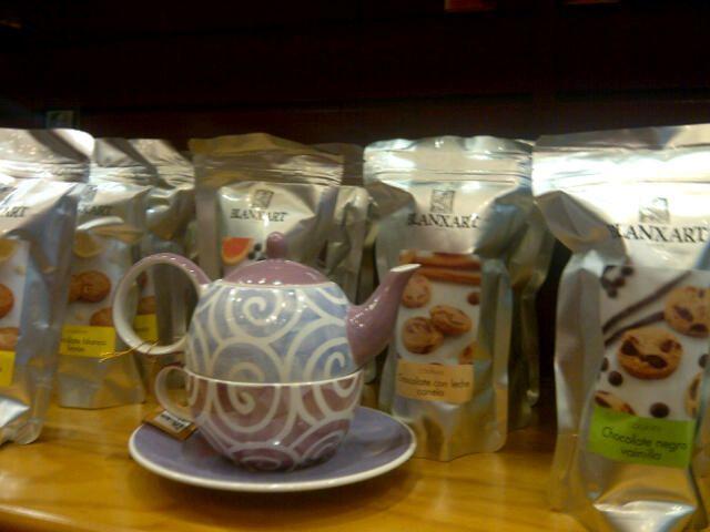 Un té para ti solo, original y si lo acompañas con unas cookies, perfecto!