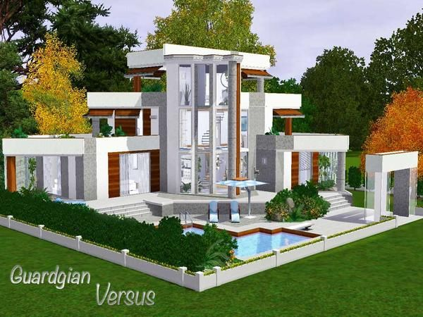 Versus House By Guardgian   Sims 3 Downloads CC Caboodle. House DesignSims  IdeasFree ...